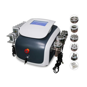 JF548   6 In 1 Multi-factional Cavitation RF Beauty Machine