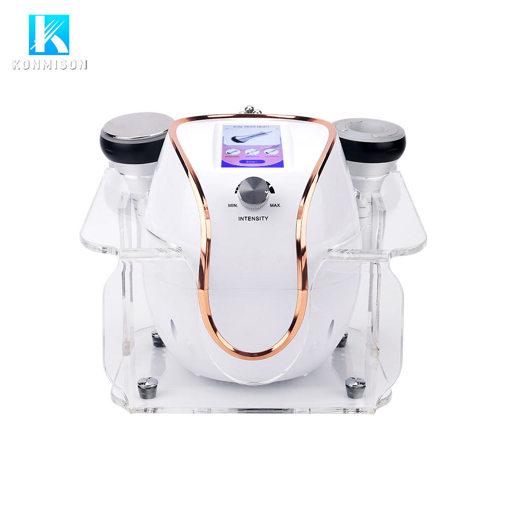 JF645 3 in 1 RF ultrasonic cavitation slimming machine portable