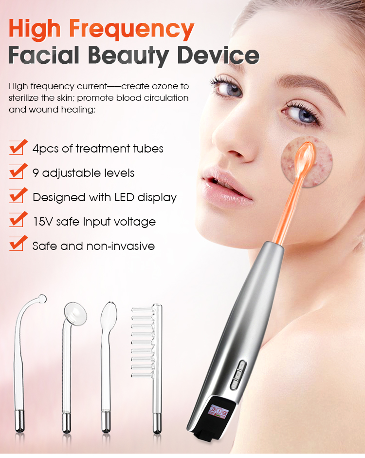 What is a high frequency facial machine?