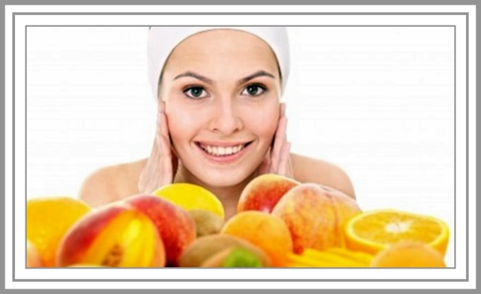 Eliminate black acne marks with fruit acids