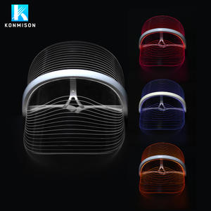 3 Colors PDT Photon Therapy LED Face Mask