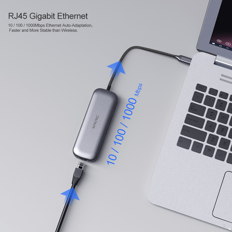 8 Port USB Hub for Macbook