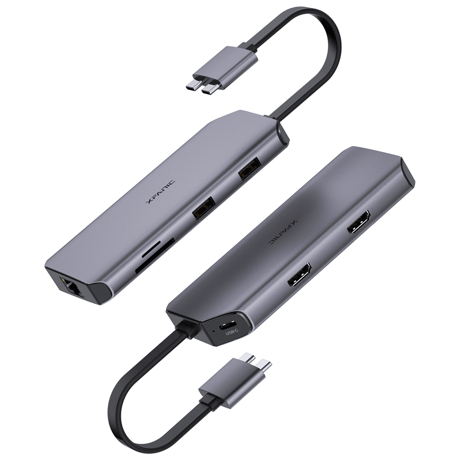 8 Ports USB C Hub for MacBook Pro