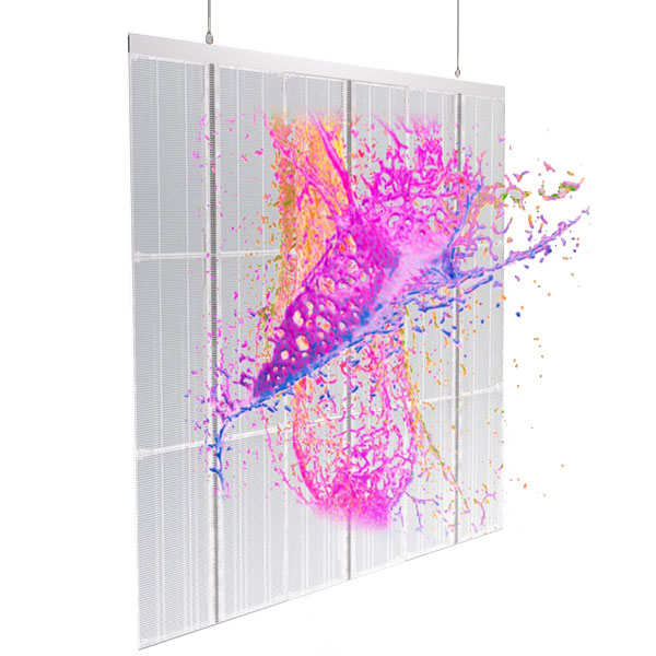 Pantalla LED transparente de pared