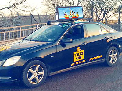 We are enjoy great popularity in USA market with our Taxi Top Led Display