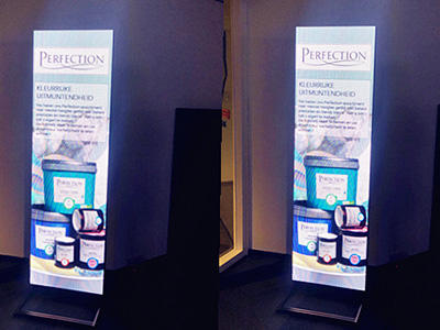 P3 high resolution LED Poster Display in Netherlands