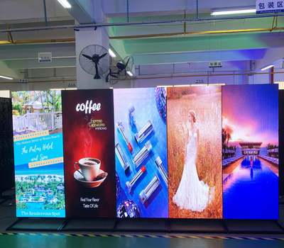Signic latest P2 led poster display screen with high resolution
