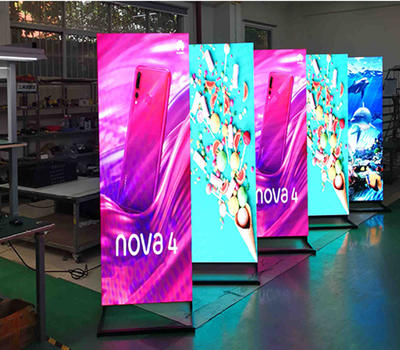 Eye-catching p2.5 LED poster