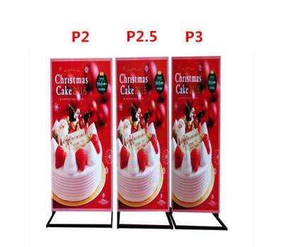 Comparison of P2 P2.5 P3 digital led poster