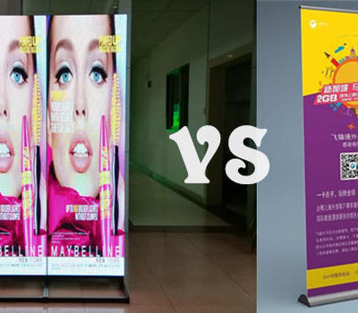 Signic poster led display,perfect for rental business