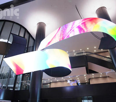 Magic flexible advertising led display is worth your possession
