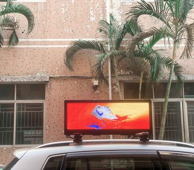SIGNIC taxi top LED display, generating additional benefit for you!