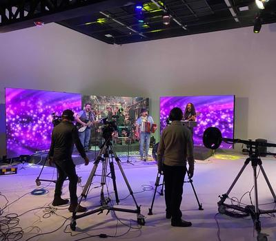 SIGNIC P3.91 rental LED display debuts at Virtual concert show
