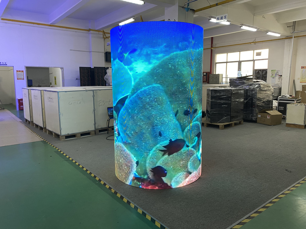 SIGNIC Indoor P3mm Flexible LED Billboard