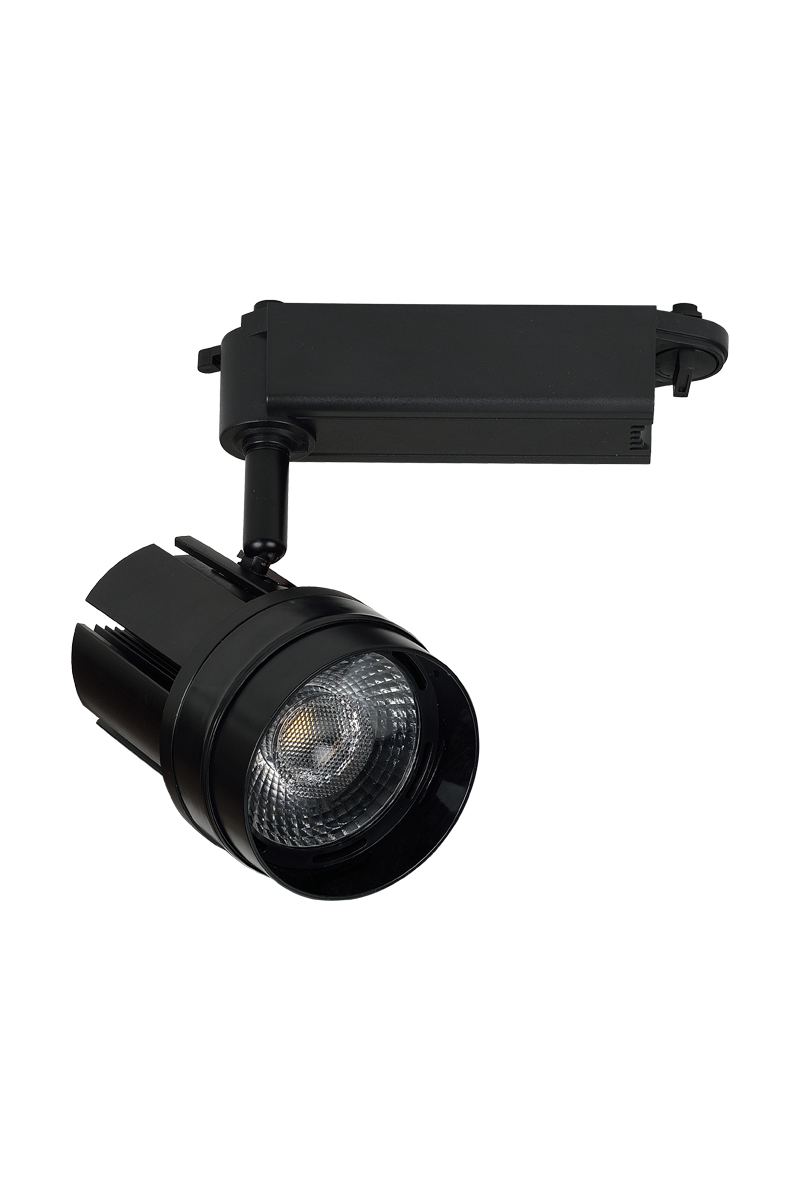 China hot sale 10W 18W 24W 30W 40W cob led commercial track light housing supplier
