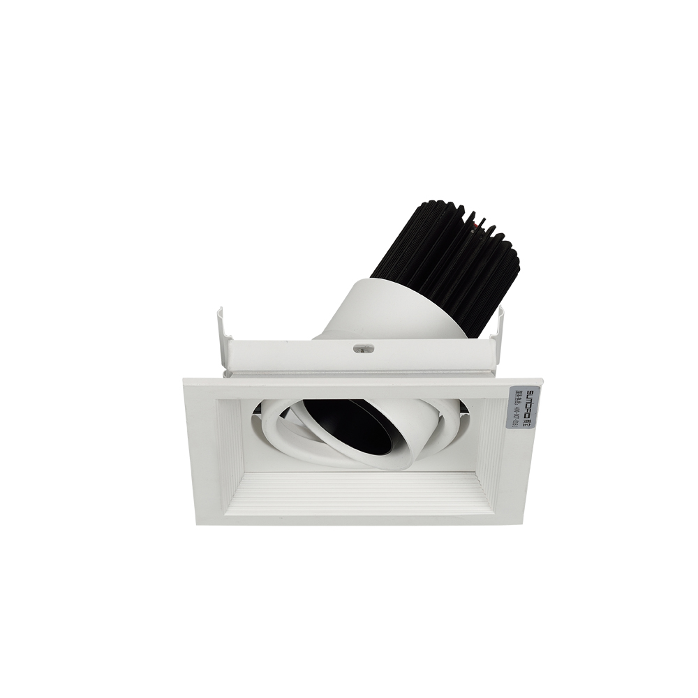 China Commercial Electric Led Recessed Lighting Trim Flush