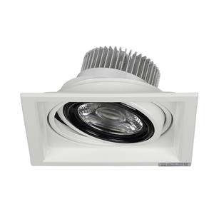 china commercial electric led recessed lighting trim