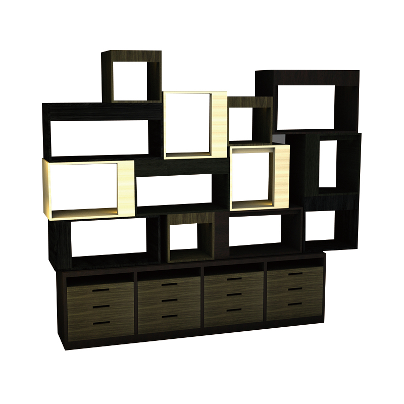 Custom retail store showcase display cabinets cases counter(ZG-01 display cabinet sale)