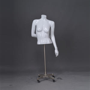 Half Body Female Mannequin Muscle Female Half Torso Mannequin(AF)
