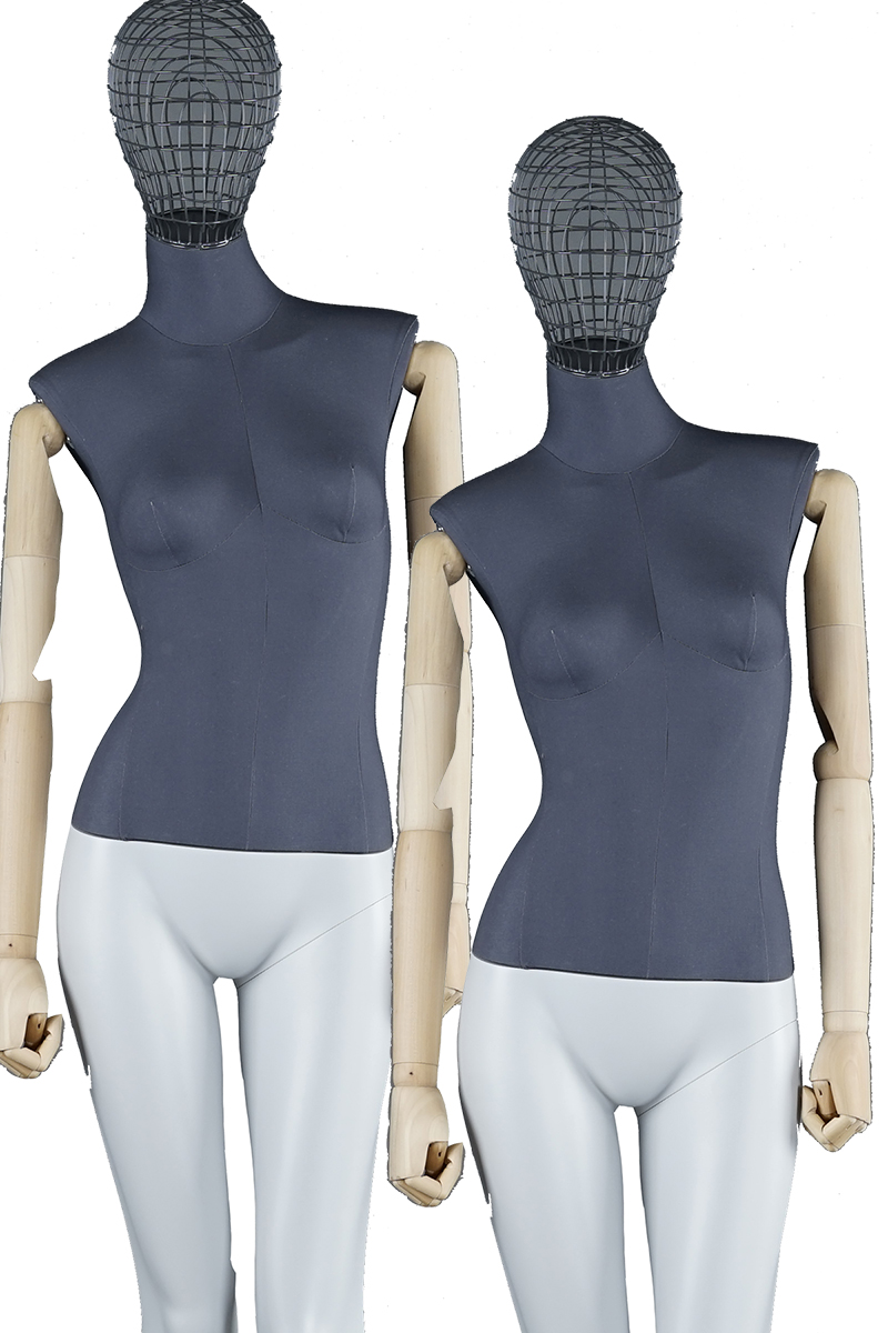 Adjustable full body fabric covered mannequins tailor mannequins women garment dummy(FB)