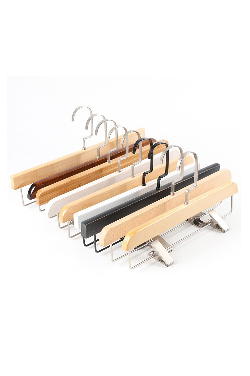 Hangers for trousers with clip wholesale(YJI)
