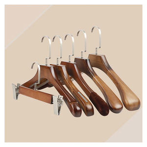 Wholesale Cheap Wooden Hangers(YJN)