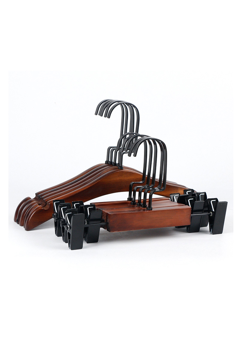 Quality wooden hangers for child(YJM)