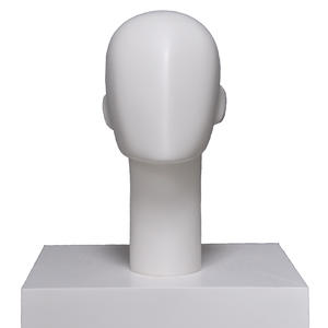 Customized Fiberglass Female Abstract Mannequin Head