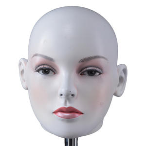High quality realistic mannequin head female mannequin for training