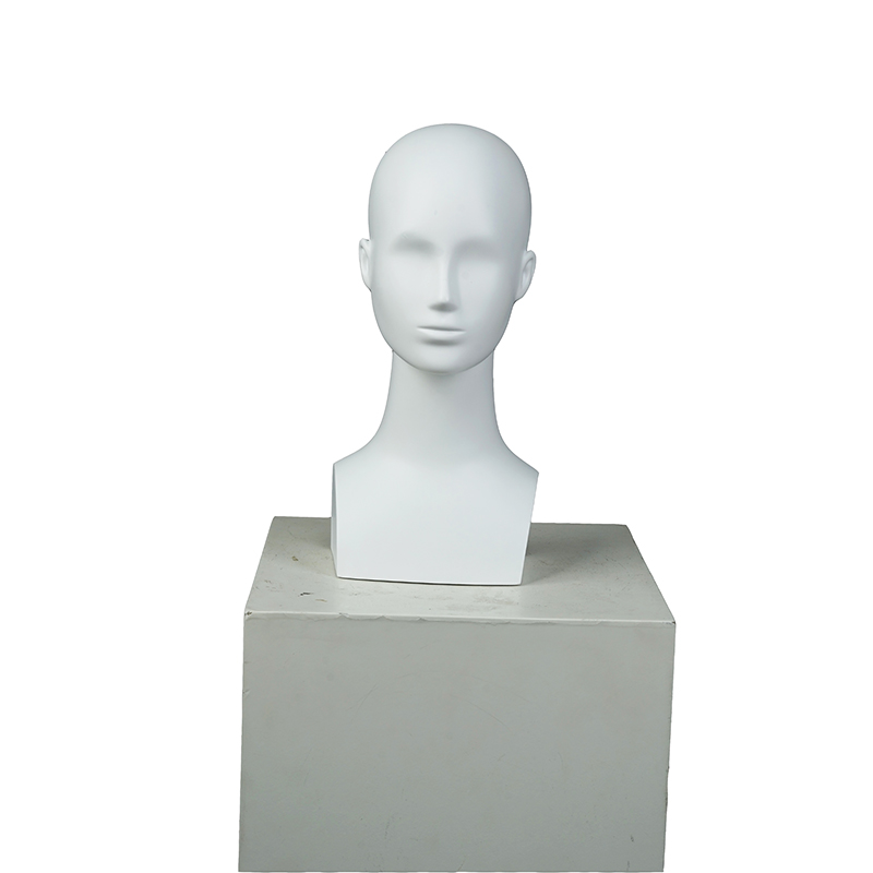 Cheap factory female realistic mannequin head fashion realistic display mannequin (GMH)