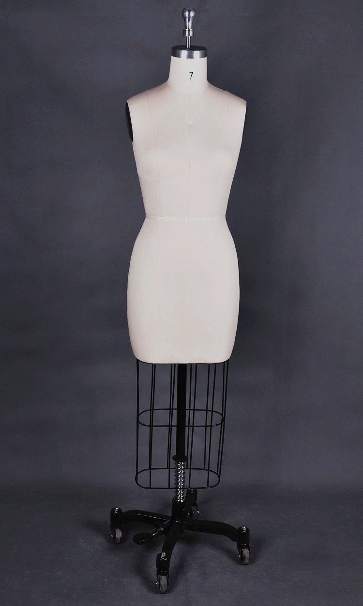 Half size tailors dummy sewing mannequin for female dress form