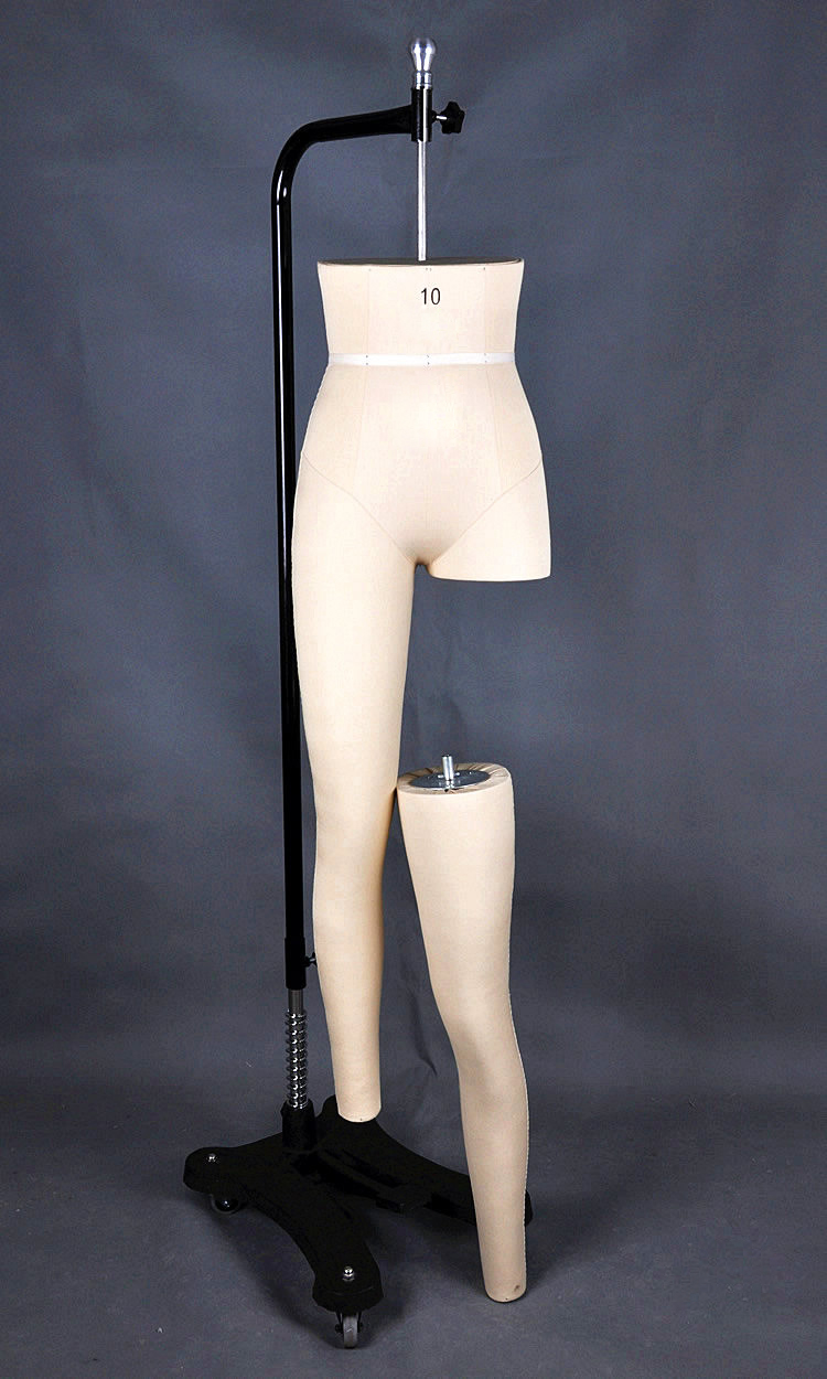 Female Leg Mannequin Sewing Mannequin for pants