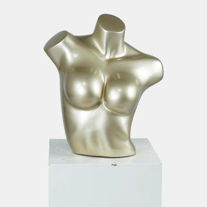 female upper body mannequin Torso Bust Mannequin for bust form display Big breast bra mannequin stand