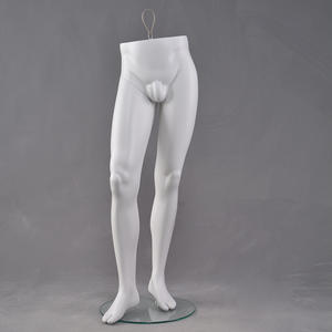 High quality fiberglass leg mannequins male trousers leg mannequins