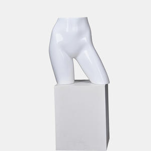 Glossy White Fashion Torso Mannequins Female Cheap Hips Mannequin With Stand (FBH)