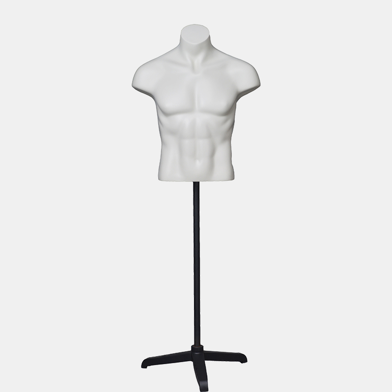 Customized mannequin male torso upper body mannequin for clothes display(OBH)