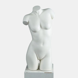 High bra display bust mannequin female half body mannequin for sale(LCH)