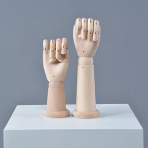 Display mannequin wooden mannequin hand display
