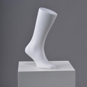 Wholsale White Male Foot Mannequin For Shoes(GF)