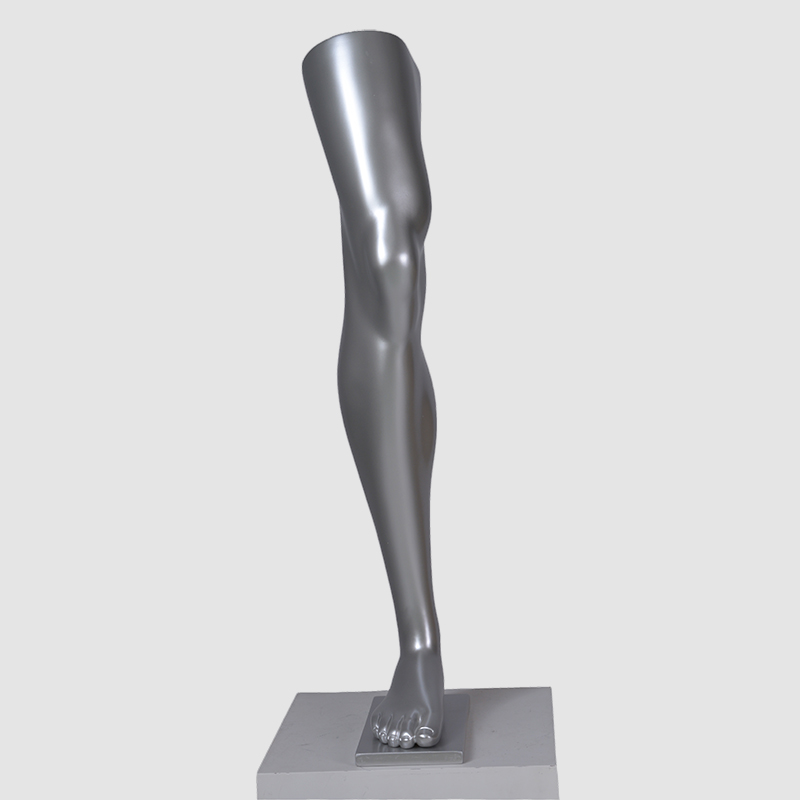 Customized sliver male foot mannequin(AF)