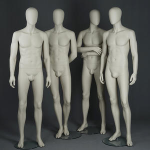 Wholesale muscle matte white mannequins/men suit model male mannequin(KMF)