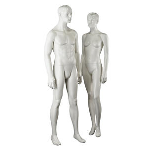 Innovative design lifelike mannequin male and female combination garment mannequin for window display