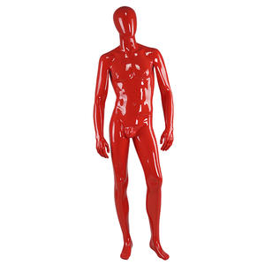Customized High Glossy Vintage Black Male Mannequin Display Mannequins Sale(GM)