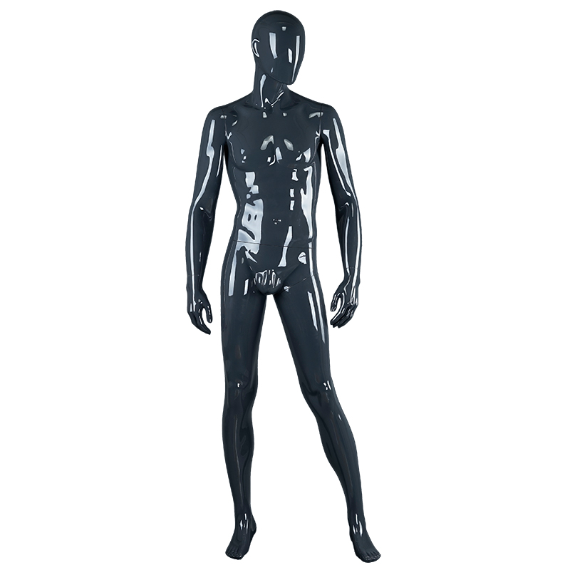 Fashion design vintage black male mannequin display mannequins sale(QM)