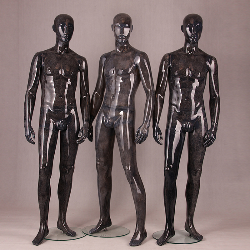 Resin color factory direct price muscular male mannequin fashion window display vintage mannequins(BM)
