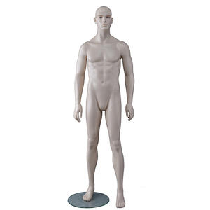 Sexy Lifelike Male Mannequins Fiberglass Male Realistic Mannequin For Clothing Shop(FM)