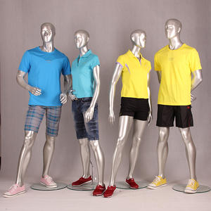 Wholesale golden color full body sexy muscled mannequin male for window display