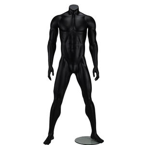 Hot sale male female running mannequin big muscle sport display mannequins