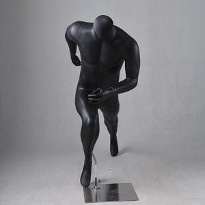 Black male sport mannequin for sale(LPM)
