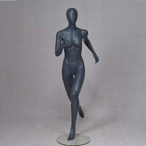 Customized mannequin running female and male full body muscular mannequin (RPM)